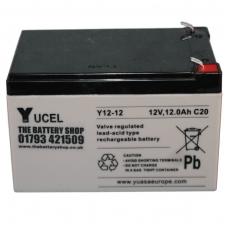 Akumuliatorius YUCEL Y12-12L 12V 17Ah