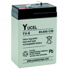 Akumuliatorius YUCEL Y4-6 6V 4.0Ah