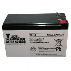 Akumuliatorius YUCEL Y9-12 12V 9.0Ah