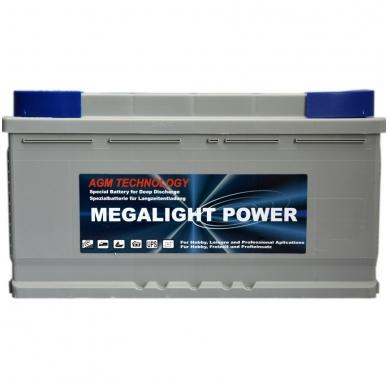 Akumuliatorius 100AH Megalight 12V