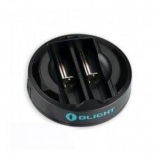 Universalus baterijų įkroviklis OLight Omni-Dok II