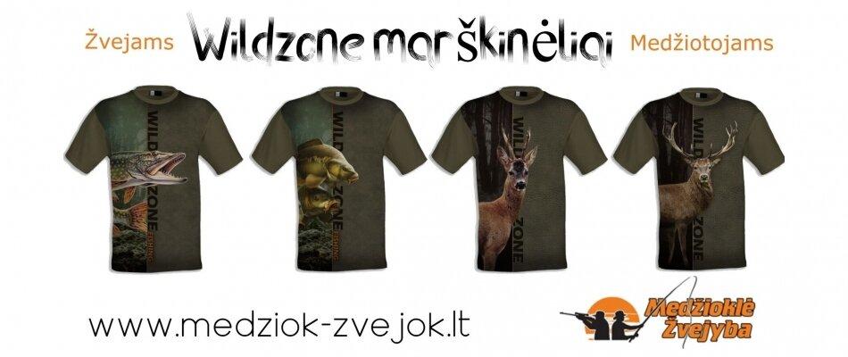 Wildzone marškinėliai
