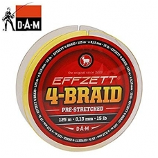 DAM Effzett 4-Braid  125m.
