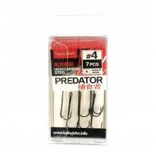 Dvišakiai kabliukai Lucky John Predator LJH125-004