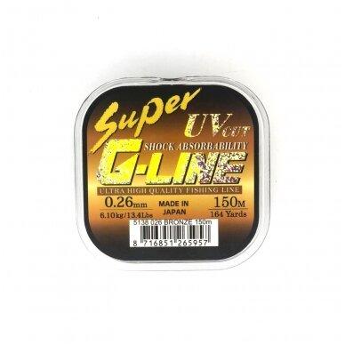Gamakatsu Super G-Line Shock Absorbability 150m. Bronze