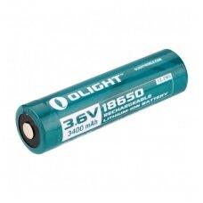 Įkraunamos baterijos OLight 18650