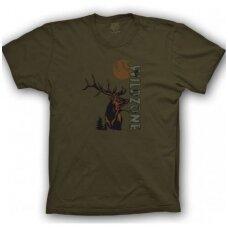 Marškinėliai su elniu