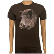 Marškinėliai su šerno atvaizdu Malfini