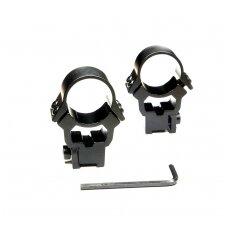 Optikos tvirtinimo žiedai Norin 25.4mm 3/8''
