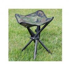 Sulankstoma kėdė kamufliažinė