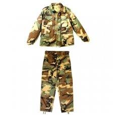 Vaikiškas rudeninis/pavasarinis kamufliažinis kostiumas