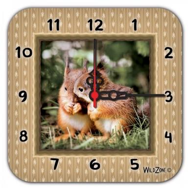 Wildzone vaikiškas laikrodis su voverėm