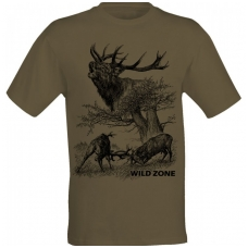 Wildzone Marškinėliai su Elniais