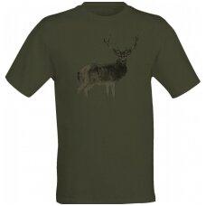 Marškinėliai su elniu Wildzone