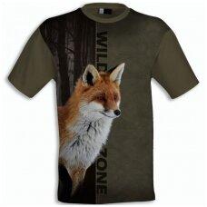 Marškinėliai su lape Wildzone
