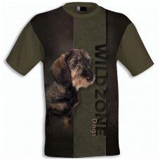Wildzone marškinėliai su šiurkščiaplaukiu taksu