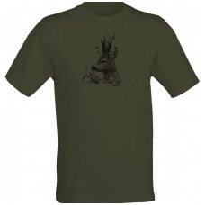 Marškinėliai su stirninu Wildzone