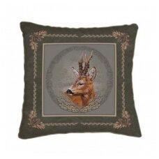 Dekoratyvinė pagalvėlė su stirnino atvaizdu Wildzone 42x42cm