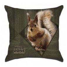 Wildzone vaikiška pagalvėlė su voveriuku