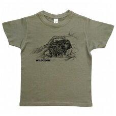Wildzone vaikiški marškinėliai su šerniukais
