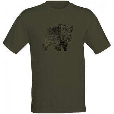 Wildzone marškinėliai su šernu