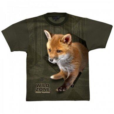 Wildzone vaikiški marškinėliai su lapiuku