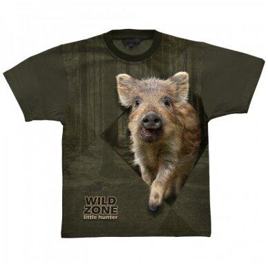Wildzone vaikiški marškinėliai su šerniuku
